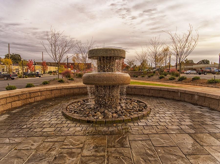 millstone-fountain