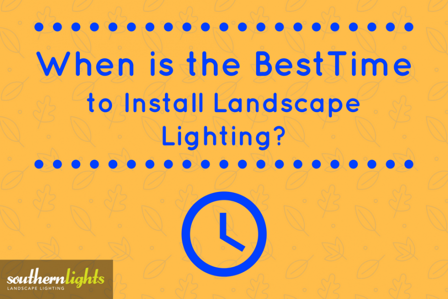 When is the best time to install landscape lighting when is the best time to install landscape lighting mozeypictures Images