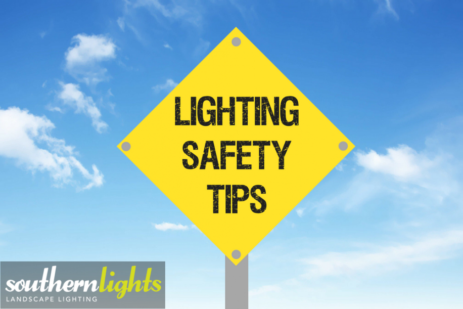 Outdoor safety lighting tips southern lights of nc outdoor safety lighting tips aloadofball Image collections