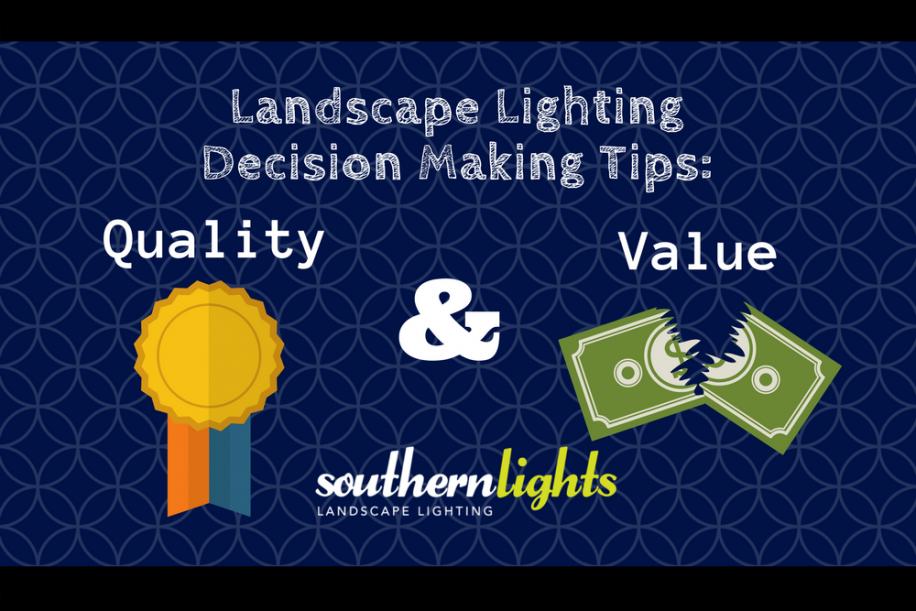 Landscape lighting decision making tips quality and value landscape lighting decision making tips quality and value aloadofball Images