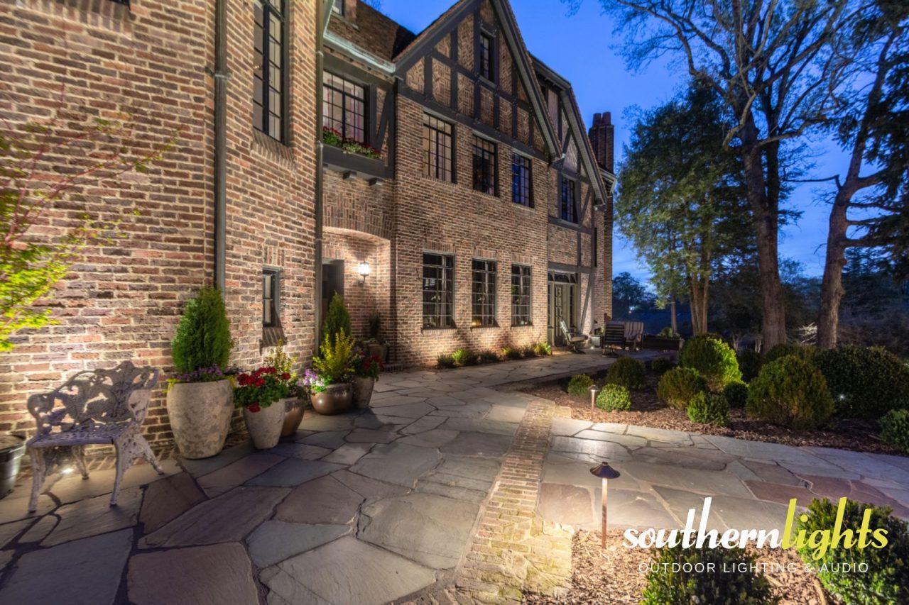 Julian Price House Landscape Lighting Design