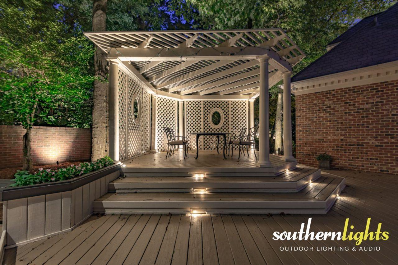 Architectural landscape lighting in greensboro nc 27408