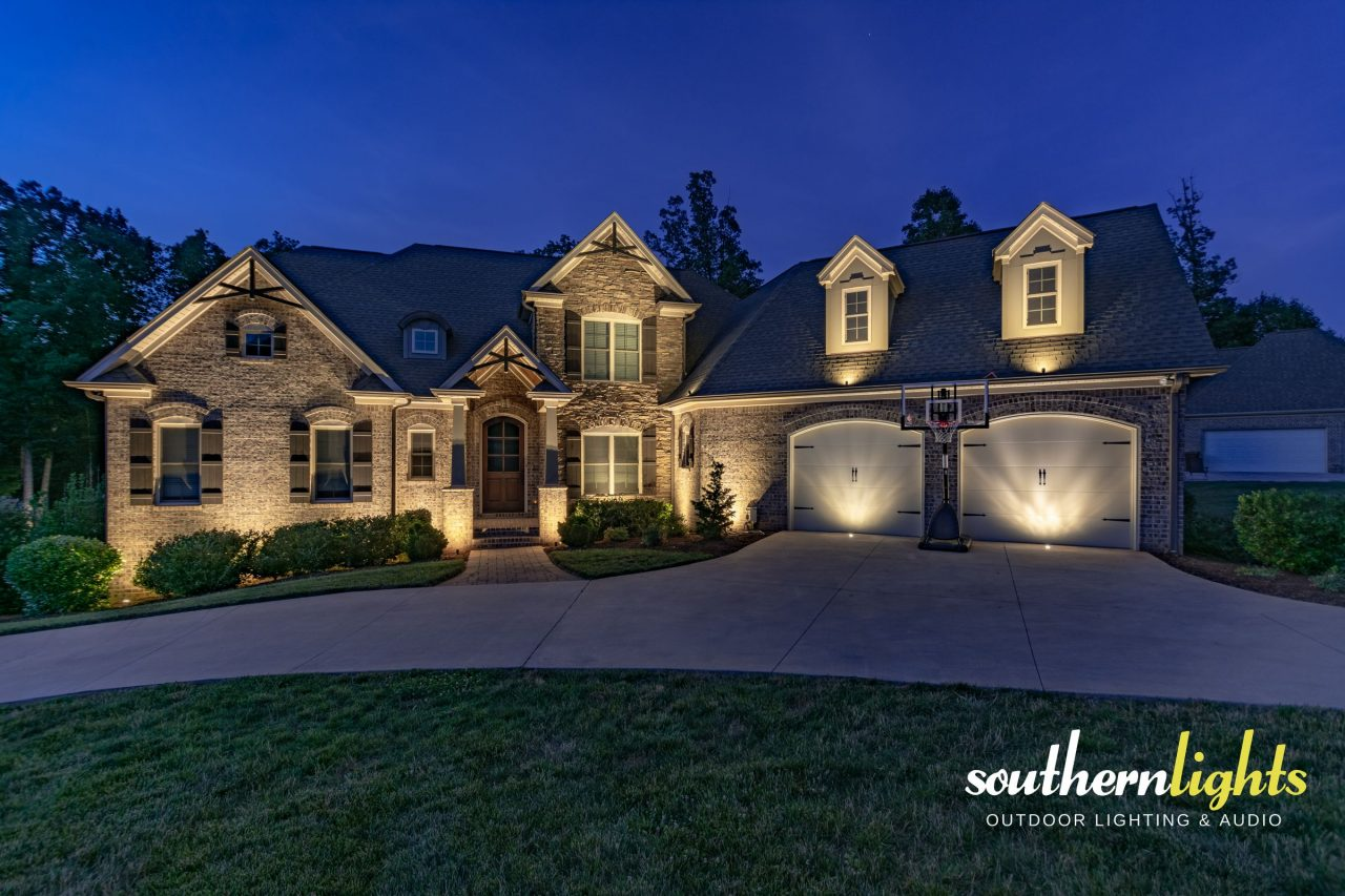 Outdoor Architectural Lighting Design And Audio Installations
